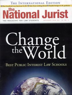 National Jurist November 2008