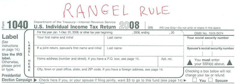 Rangel Rule