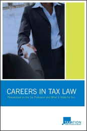 Careers in Tax Law