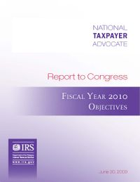 Fy2010_objectivesreport