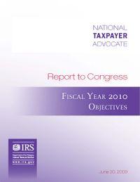 Fy2010_objectivesreport