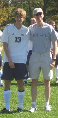 Reed (sr day -soccer - with Paul)