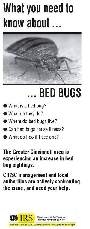 IRS Bed Bugs