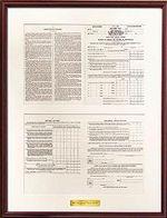 1913 Tax Form
