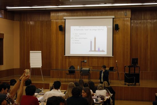 Catolica Law School - Lisbon - Tax Law Class - Use of Clicker OCT2011 - Joao Gama