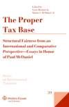 Proper Tax Base