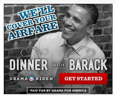Obama Dinner Ad