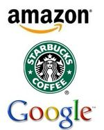 Amazon-Starbucks-Google-Logo