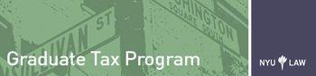 NYU Tax Logo