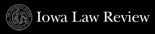 Iowa Law Review Logo