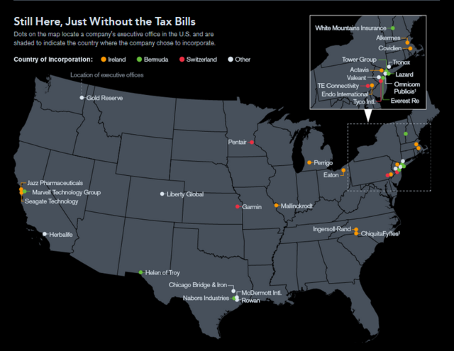 Bloomberg Map