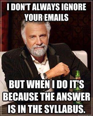 Email Syllabus