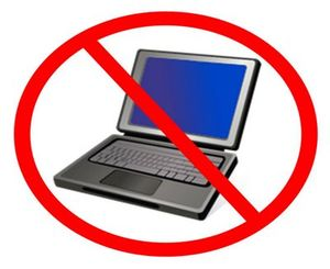 Image result for computer ban