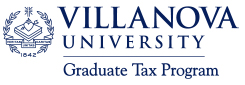 Villanova Grad Tax Program Logo