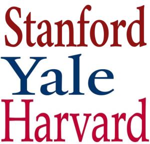 Stanford Yale Harvard