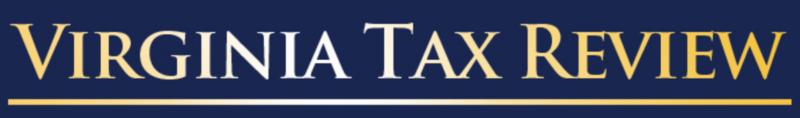 Virginia Tax Review (2016)
