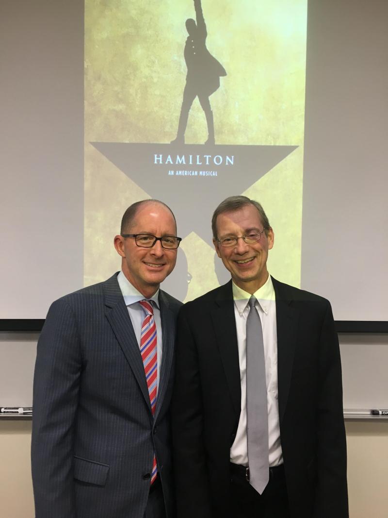 Hamilton Lecture Photo