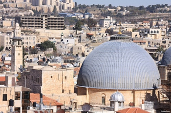 Exterior Dome of Church of the Holy Sepulchre