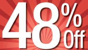 48% Off