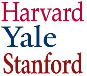 Harvard Yale Stanford