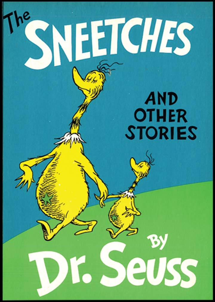 dr seuss s the sneetches essay example We found 44 reviewed resources for dr seuss the sneetches they role-play star-bellied and plain-bellied sneetches and write a persuasive essay about their experiences in this dr seuss's sneetches activity worksheet, students examine the picture of 9 sneetches and identify the 1 that is.