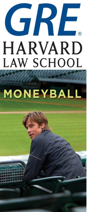 GRE Harvard Moneyball