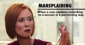 Manplaining