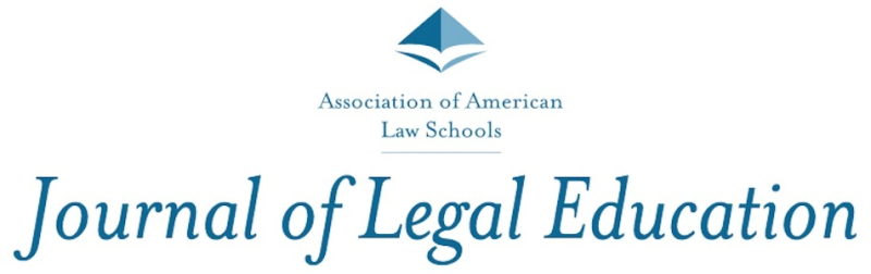 Journal of Legal Education (2018)