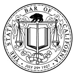 CA state bar logo PNG