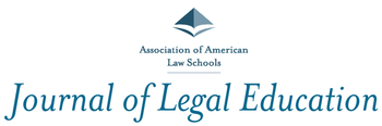Journal of Legal Education (2014)