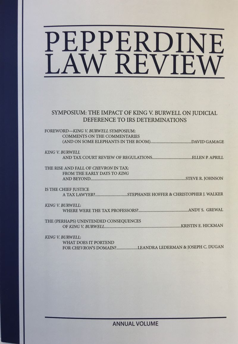 Pepperdine Law Review