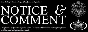 Yale Notice & Comment