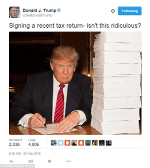 Trump Tax Returns