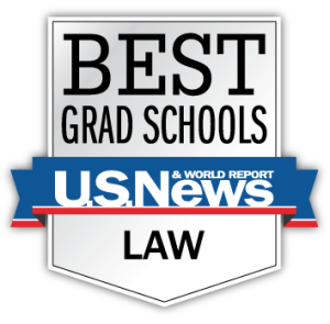 US News Law School Rankings logo
