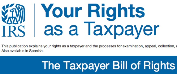 Taxpayer Bill of Right