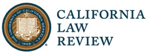 California Law Review 4