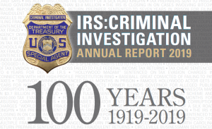 IRS Criminal Cover Page
