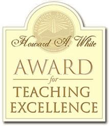 Howard A White Teaching Award