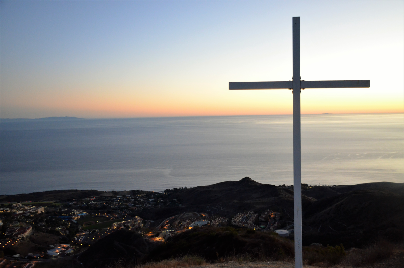 Pepperdine Cross And Ocean 1