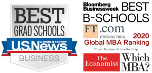 B School Rankings Logos