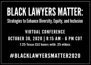 Black Lawyers Matter Conference