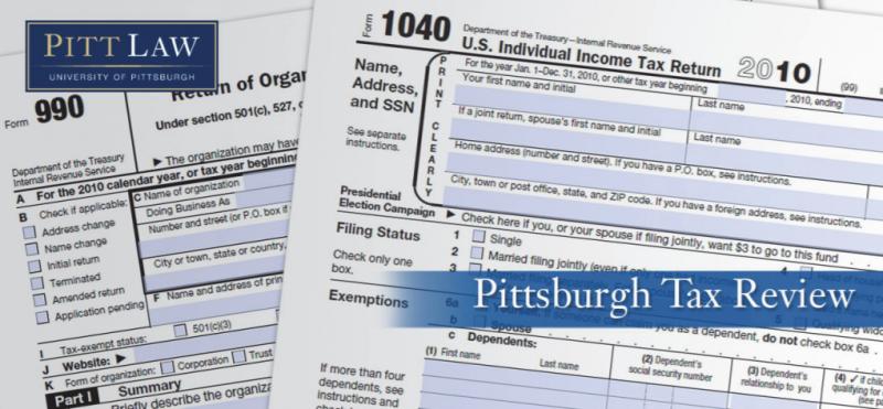 Pitt Tax Review (2020)