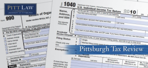 Pitt Tax Review (2020)