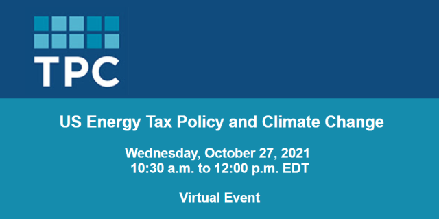 Us-energy-tax-policy-and-climate-change