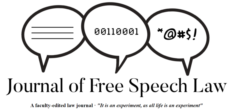 Journal of Free Speech Law