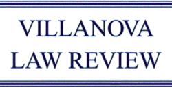 Villanova Law Review