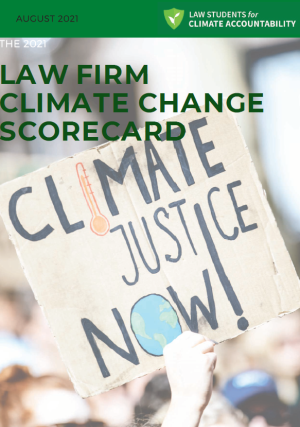 Law Firm Climate Change Cover