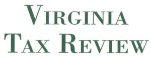 Virginia Tax Review (2021)