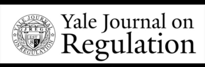 Yale J on Reg (2021)