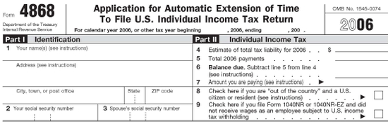 form_4868_2 Tax Form Example on federal tax extension, how fill out, federal income tax, individual extension, amount you have already paid, personal extension, free tax, printable blank,
